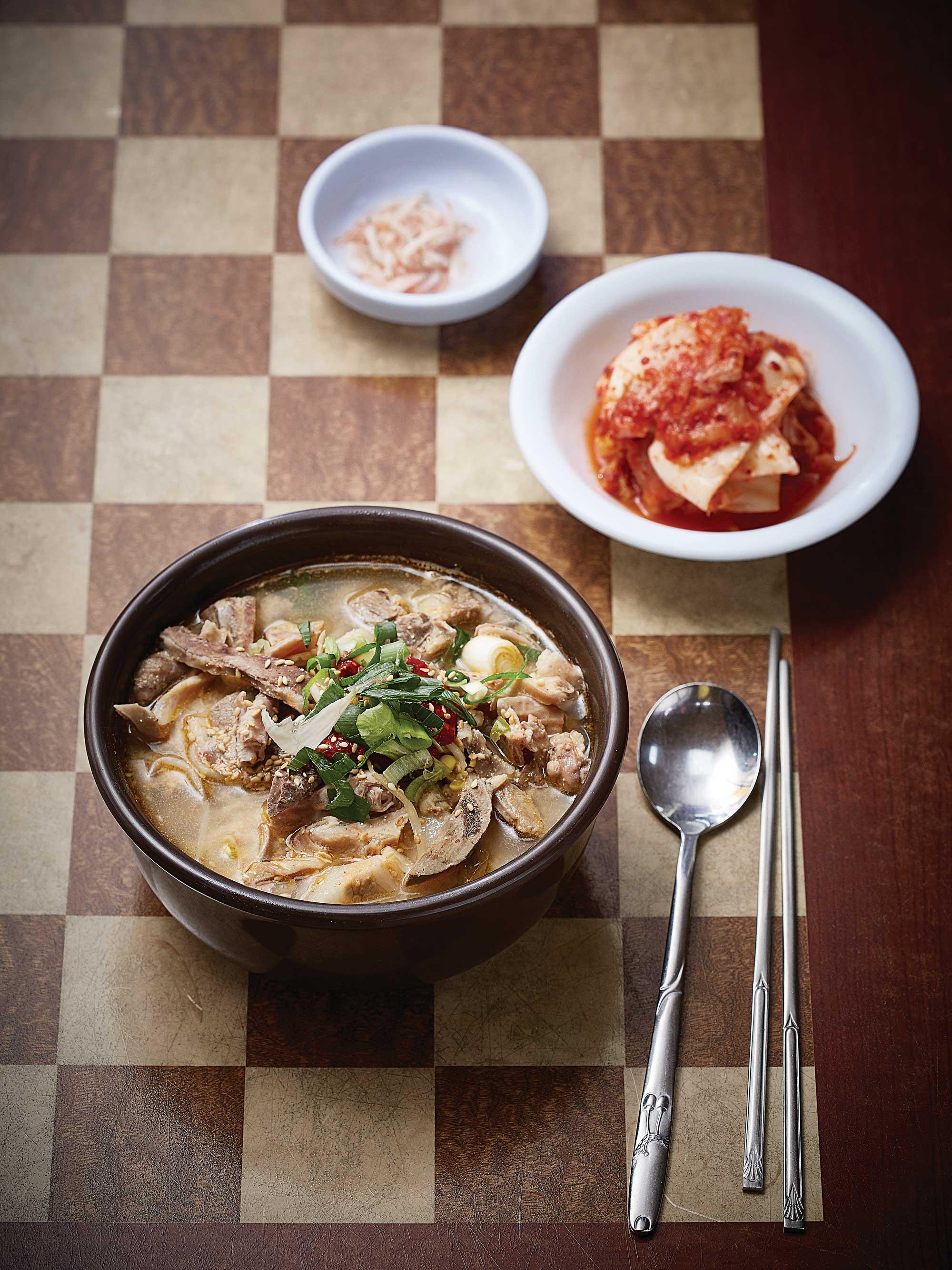 노무현 대통령이 와서 먹었다는 하나분식의 국밥 ©김재욱