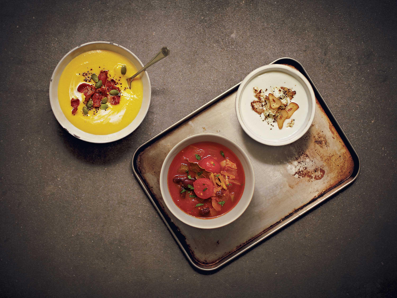 6가지 수프 레시피