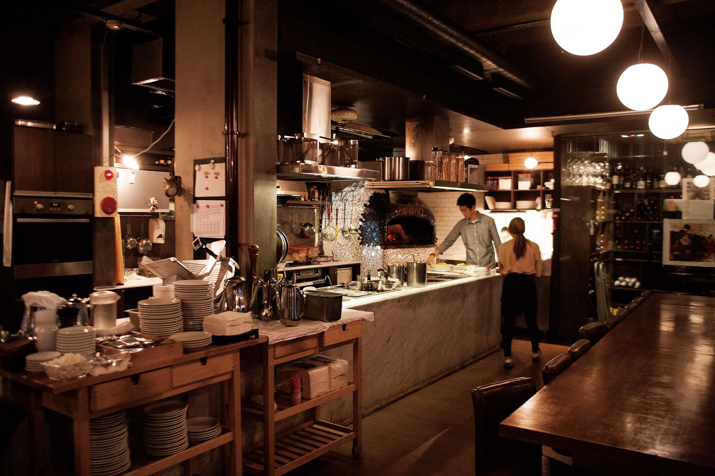 은파유원지의 정통 이탤리언 레스토랑 파라디소 페르두또. ©현관욱