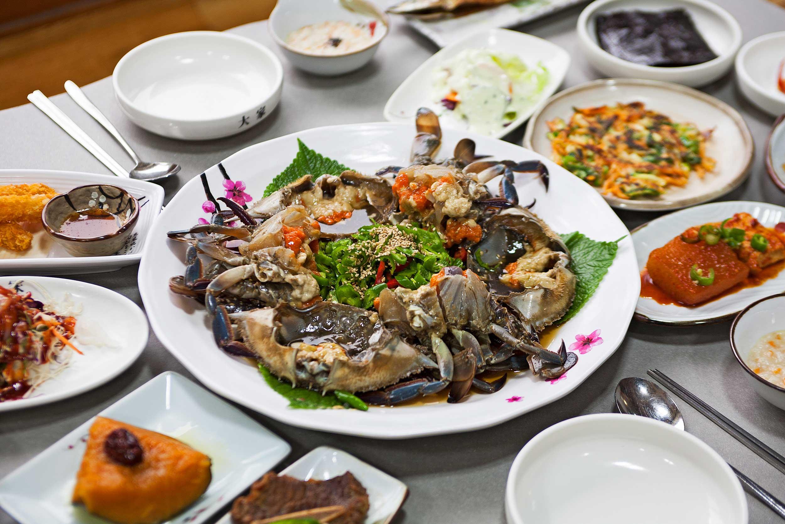 군산의 3대 꽃게장 음식점으로 꼽히는 대가大家의 간장게장 ©현관욱