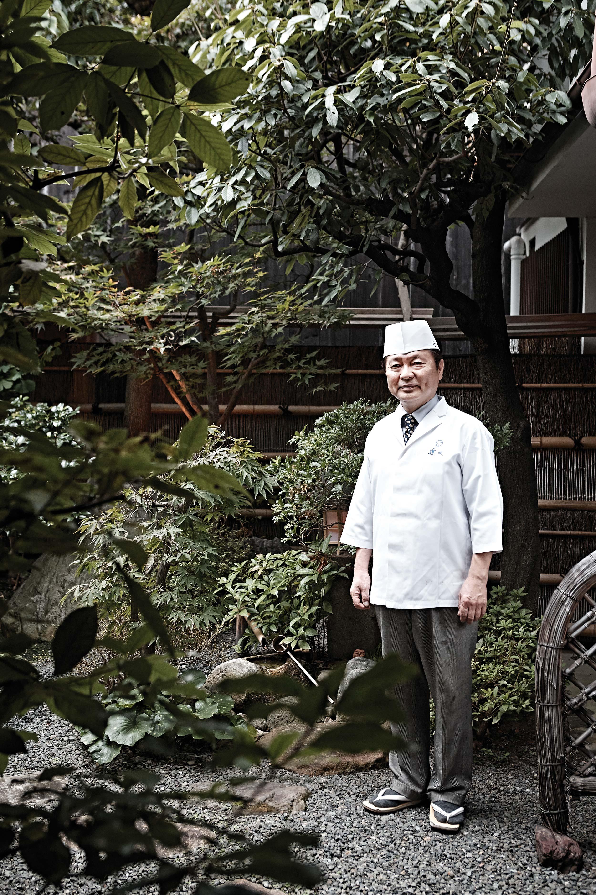 긴마타의 7대 셰프인 우카이 하루지. © 김재욱