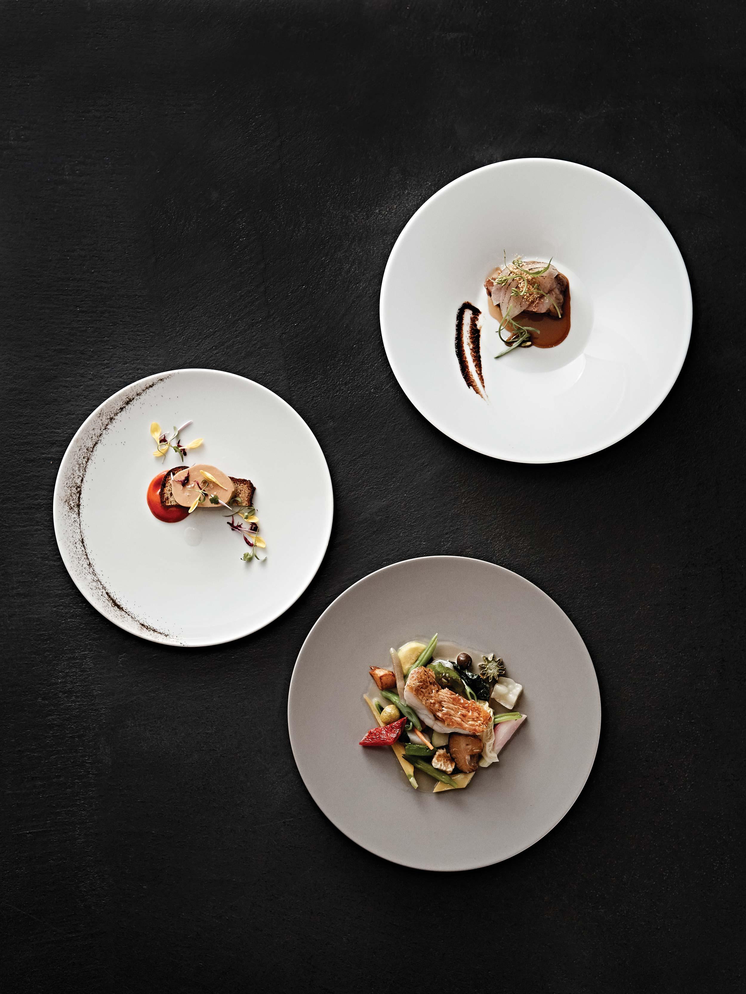 교토 프렌치를 선보이는 모토이는 미슐랭 1스타 레스토랑이다. © 김재욱