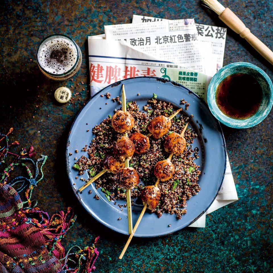 츠쿠네와 일본식 퀴노아 © Ant Duncan