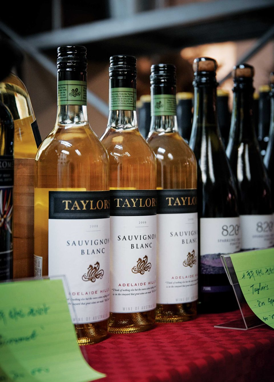 기프트와인에서는 1만~3만원의 균일가에 호주 와인을 구입할 수 있는 부스를 운영했다. © 양성모