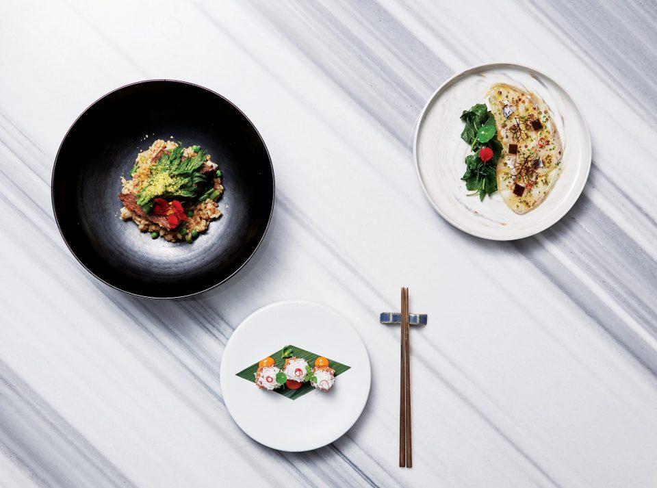 갈비찜&사골버터밥, 까르파치오, 찜닭크로메스키 © 양성모