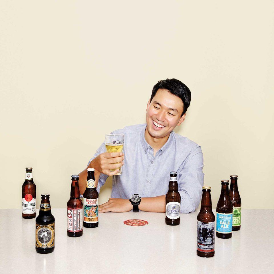 '쉐프'란 닉네임으로 활동하는 맥주 마니아 이태경 셰프. 맥주에 빠진 지는 겨우 2년 남짓 되었지만 열정만큼은 남다르다.