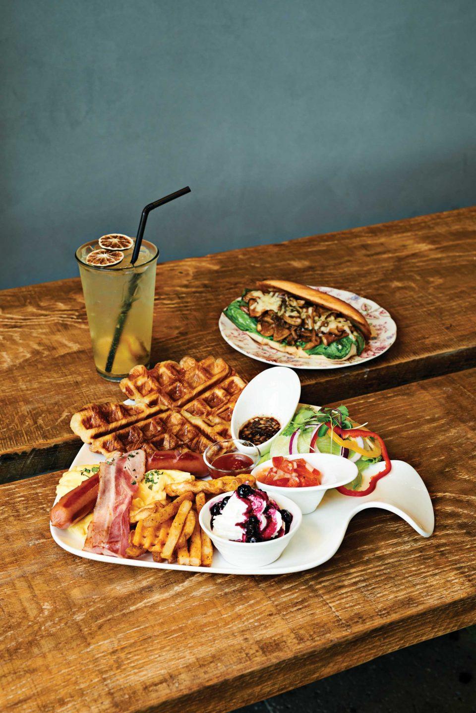 마음껏 수다를 떨고 맛있는 음식을 즐기며 편안한 시간을 보낼 수 있는 송도의 더수다 브런치 레스토랑.