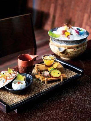 일본요리 와카타케에서 맛본 가이세키 요리는 시각과 미각을 모두 만족시켜주었다.