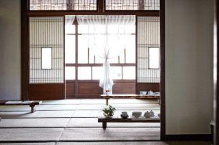 나주시노인복지관에서 운영하는 전통 찻집 다향. 외관부터 내부까지 일본 가옥을 그대로 살렸다.