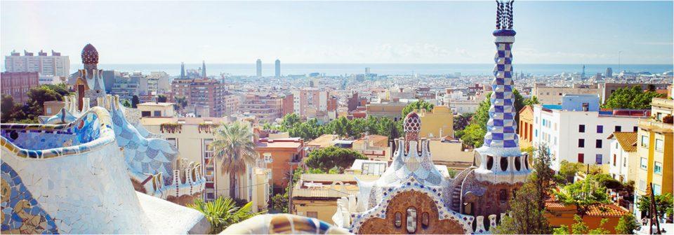 바르셀로나의 전경.