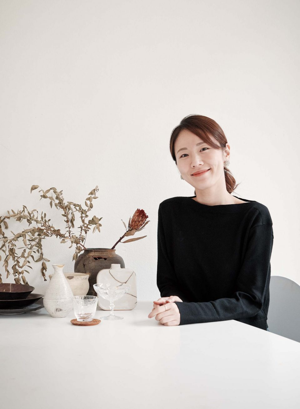 김수미 작가.