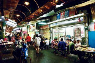 타이중 펑위안 구에 있는 훠궈 음식점 대만진사차화과台灣陳沙茶火鍋.