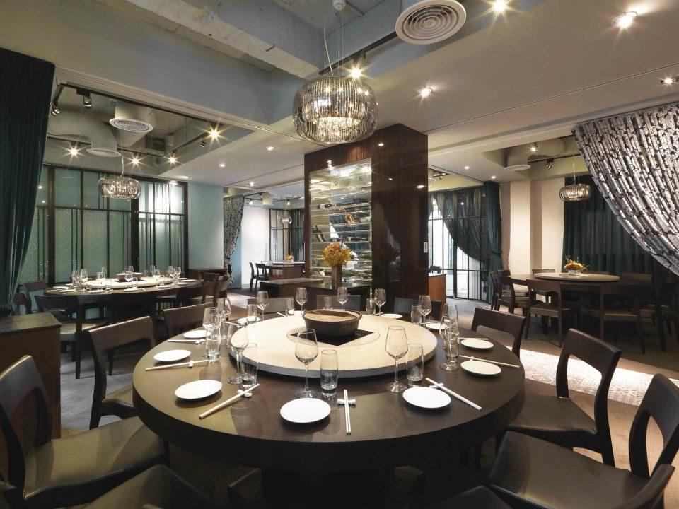 미쉐린 1스타 레스토랑인 골든 포르모사 내부. 골든 포르모사는 3대째 타이완 전통 요리를 선보이고 있다.