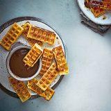 3 Ways Chocolate-Waffle Churros